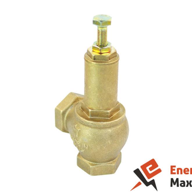 Трубопроводная арматура предохранительный клапан из латуни