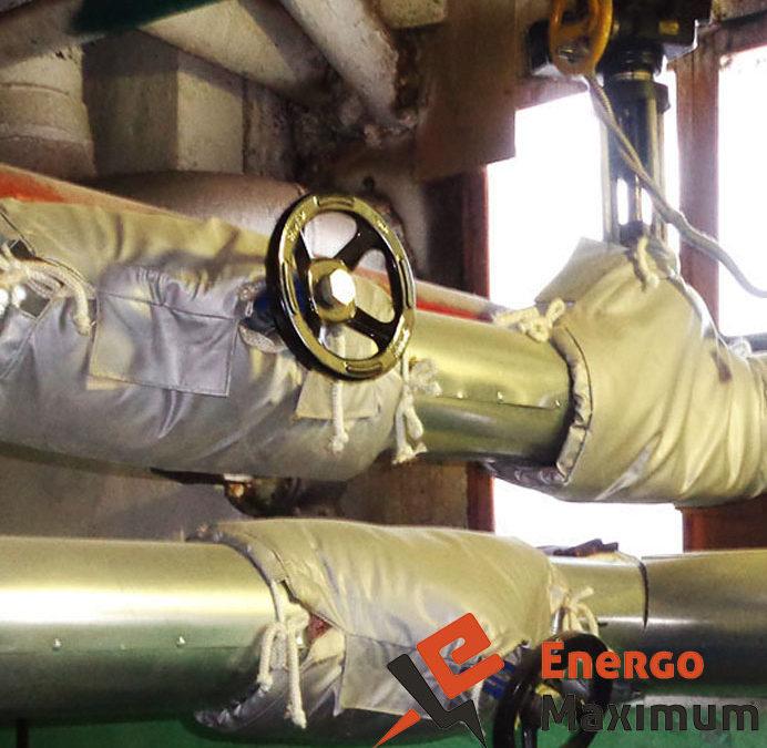 Термочехлы для трубопроводной арматуры